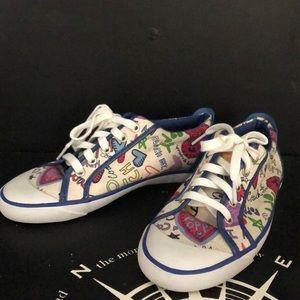 Coach Poppy Sneakers Sz 8.5 NEW
